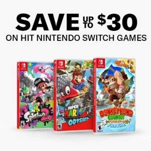 Select Nintendo Switch Games