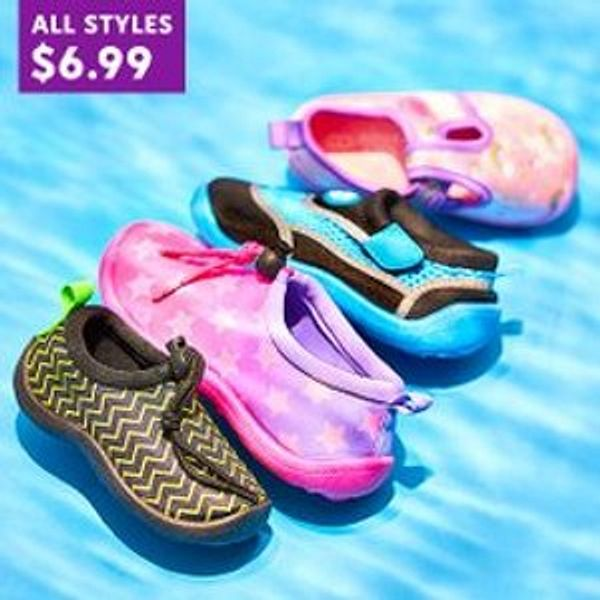 Zulily Kids Water Shoes Sale