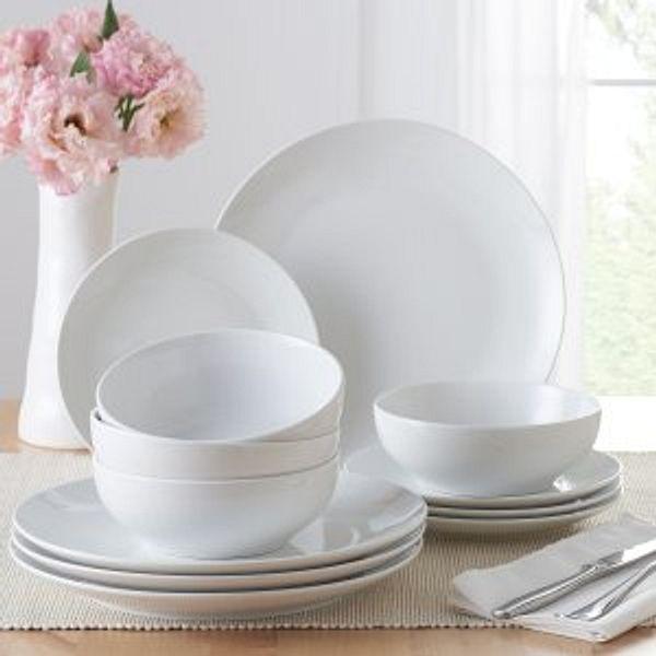 Walmart Mainstays 12-Piece Dinnerware Set