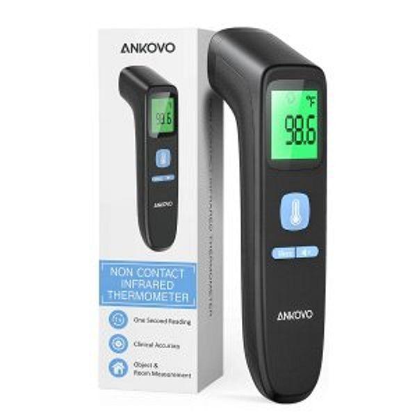 ANKOVO Touchless Forehead Thermometer