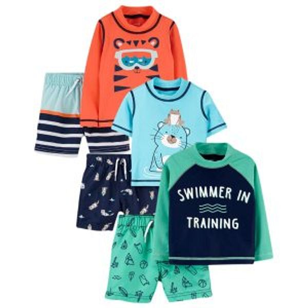 Carter's Kids Swimsuits, Rashguards & Trunks Sale Up to 40% Off