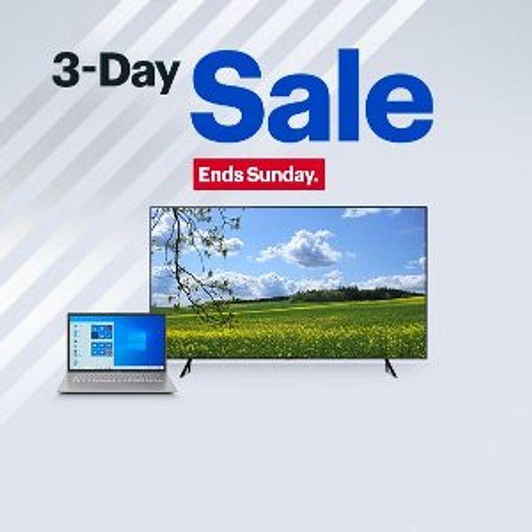 Best Buy 3-Day Sale