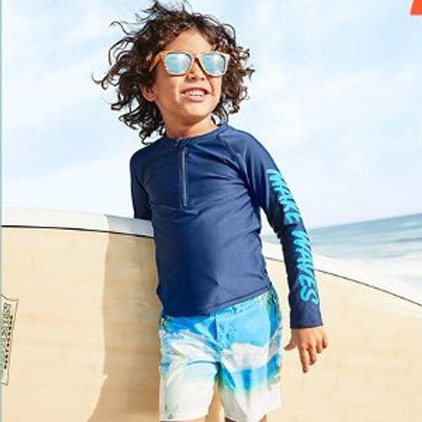 OshKosh BGosh Kids Swim Suits, Trunks and Rashguards Doorbuster Sale