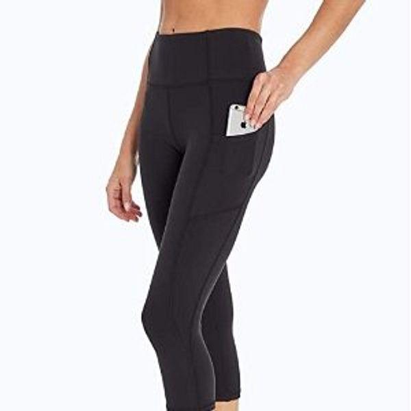 Jessica Simpson Sportswear Women's Tummy Control Pocket Capri Legging @Amazon
