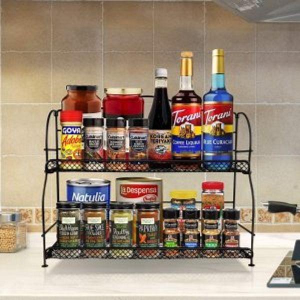 Hodekt Spice Rack Organizer for Cabinet