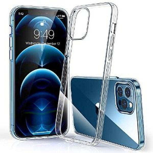Humixx Crystal Clear Case for iPhone 12 Pro Max
