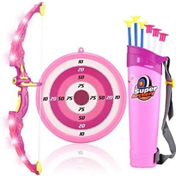 MagicWe Bow and Arrow Toy Set for Kids