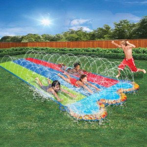 BANZAI Triple Racer Water 16 Feet Long @Amazon
