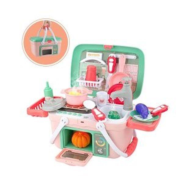 50% off SHAWE Kids Kitchen Playset Toys 30 Pieces