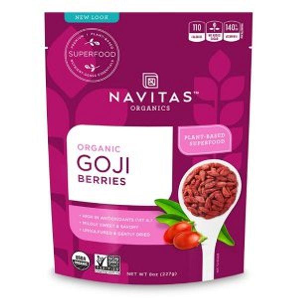 Navitas Organics Goji Berries 8oz @Amazon.com