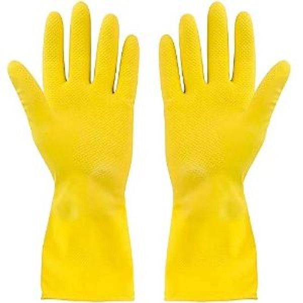 SteadMax 2 Pack Yellow Cleaning Gloves @Amazon