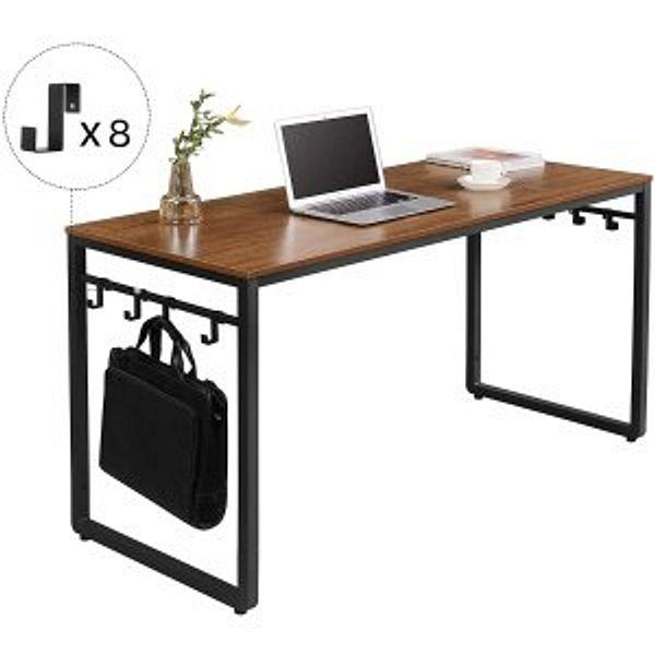 VASAGLE ALINRU Computer Desk, 55 Inch