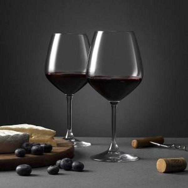 Paksh Novelty 4 Italian Wine Glasses @Amazon