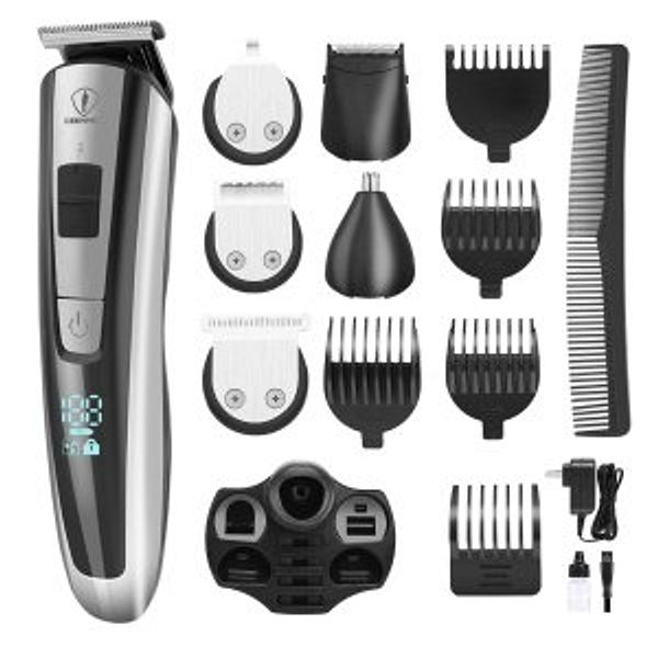 Ceenwes Men's Grooming Kit Professional Beard Trimmer Hair Clippers Hair Trimmer @Amazon.com