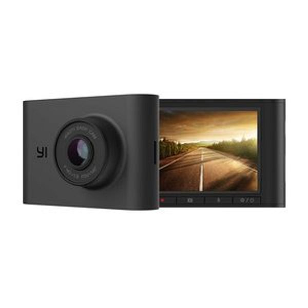 YI Nightscape Dash Cam, 1080p Smart Wi-Fi Car Camera with Heat-Resistant Supercapacitor