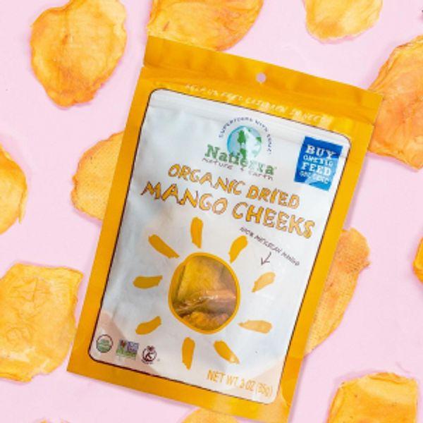 Natierra Organic Dried Mango Strips 3oz @Amazon