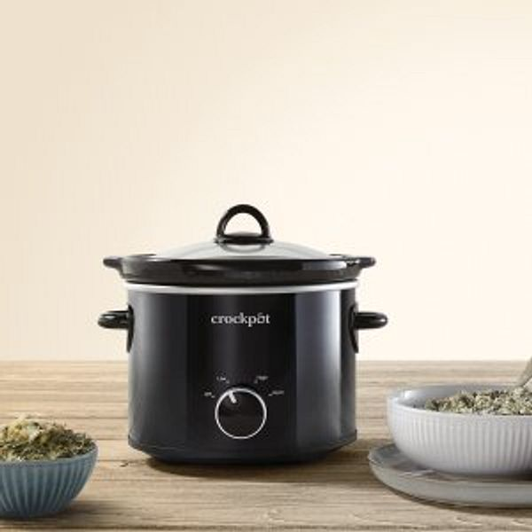 Crock-Pot 2 Quart Round Manual Slow Cooker @Walmart