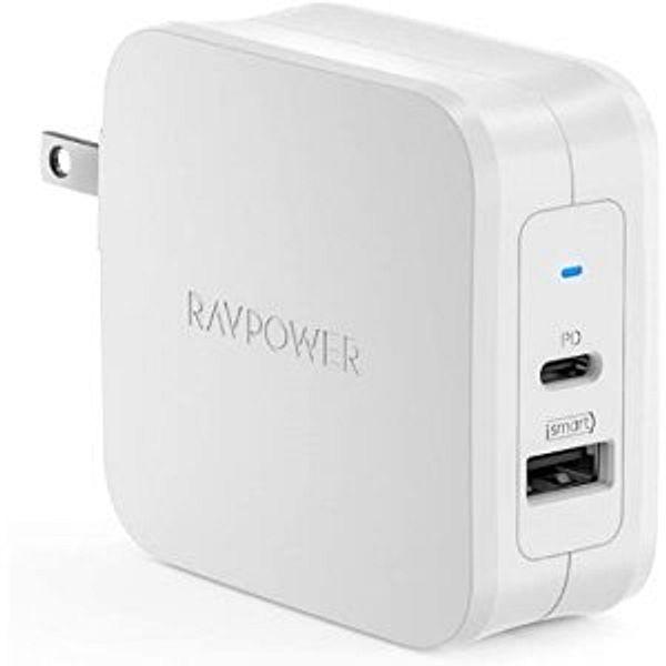 RAVPower 61W Type-C PD3.0 Power Adapter @Amazon