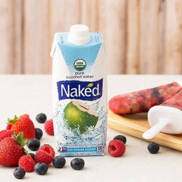 Naked Juice 100% Organic Pure Coconut Water 12 Pack