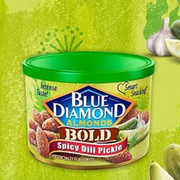 Blue Diamond Almonds, Bold Spicy Dill Pickle, 6 Ounce @Amazon