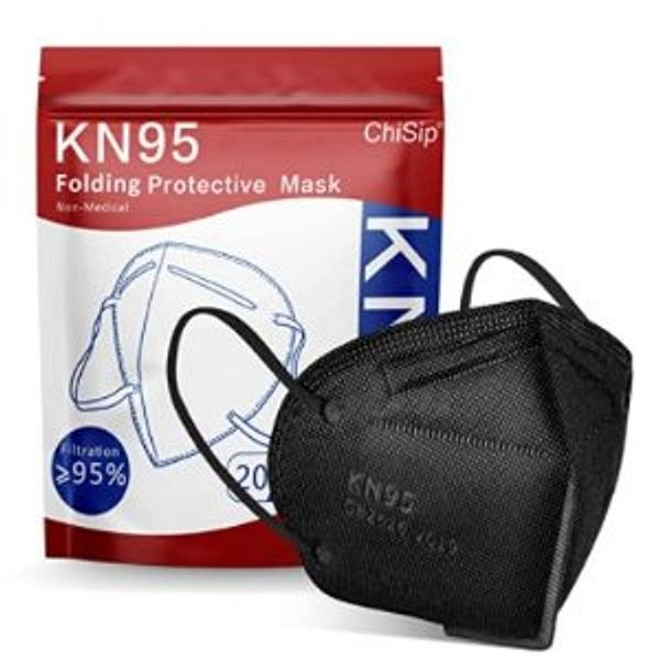 KN95 Face Mask 20Pcs, 5 Layer Design Cup Dust Safety Masks
