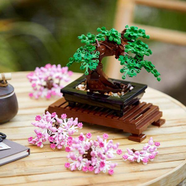LEGO Bonsai Tree 10281 Building Kit, New 2021 (878 Pieces) @amazon