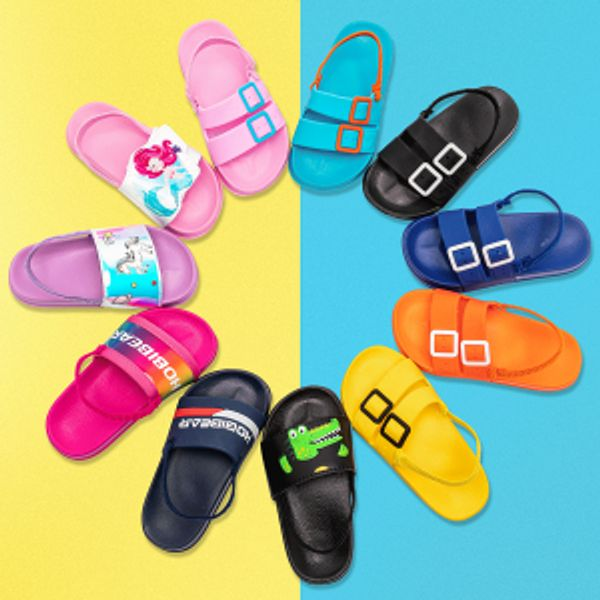 ODOUK Slide Sandals Slip-On Footbed Water Shoes @Amazon