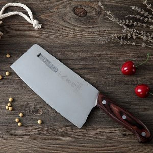 Chinese Knife SHI BA ZI ZUO Vegetable Meat Knife