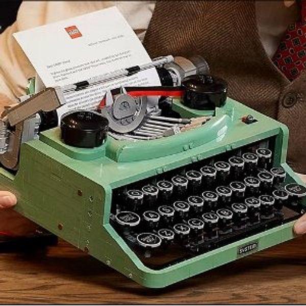 Coming Soon: LEGO ideas Typewriter
