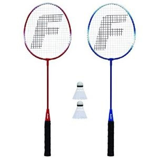 Franklin Sports 2 Player Badminton Replacement Set - 2 Badminton Racquets and 2 Shuttlecocks - Adults and Kids Backyard Game @Amazon