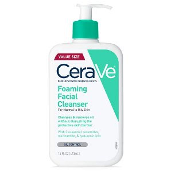 CeraVe Hydrating Facial Cleanser @Amazon