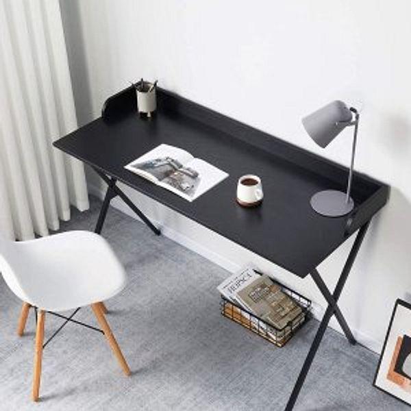 Alecono Black Desk 47'' Writing Computer Desk @Amazon