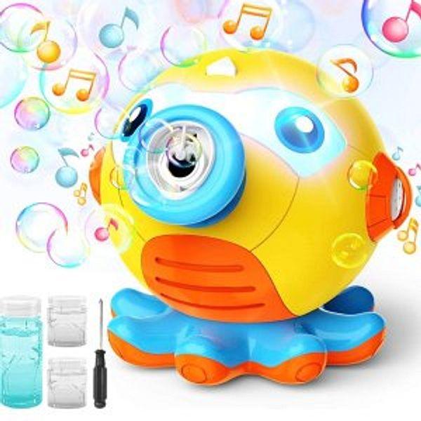 Hamdol Bubble Machine Blower for Toddlers @Amazon
