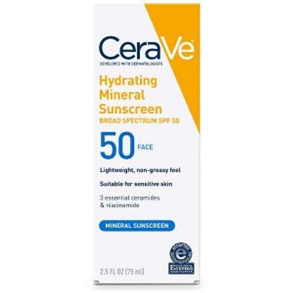 CeraVe 100% Mineral Sunscreen SPF 50 Hot Sale @Amazon
