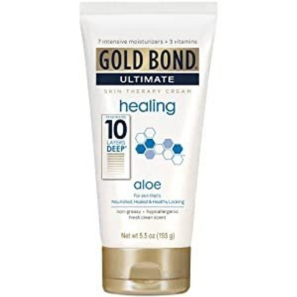 Gold Bond Ultimate Skin Therapy Lotion, Healing Aloe, 5.5 Oz