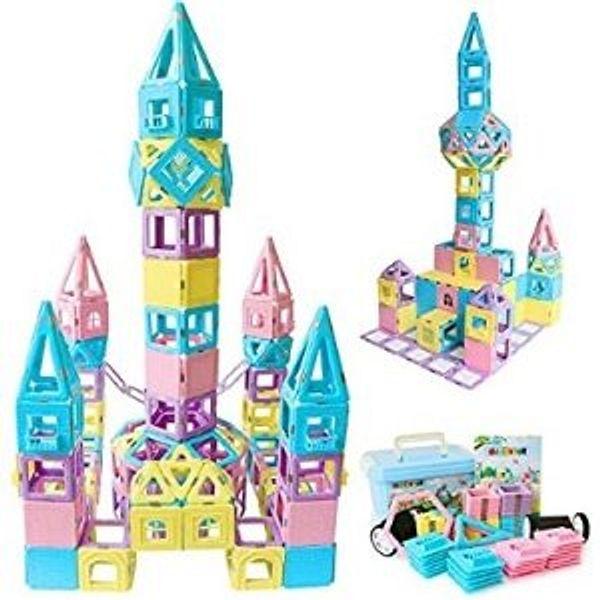 Magblock Magnetic Building Blocks STEM Educational Toys Tiles Set