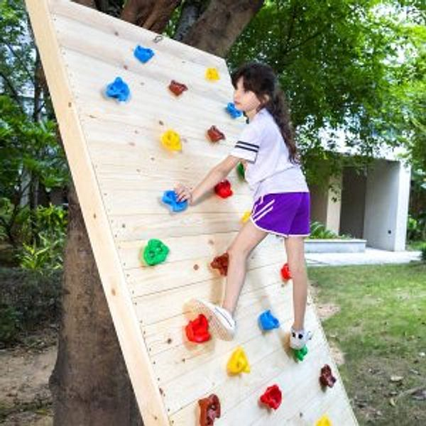 TOPNEW 25PCS Rock Climbing Holds for Kids