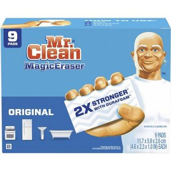 Mr Clean Magic Eraser Original, , 9 Count x2 @Amazon