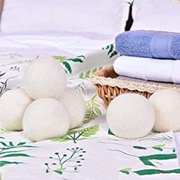 SUPA MODERN Organic Wool Dryer Balls XL @Amazon