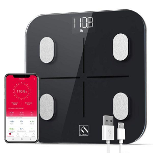 FITINDEX Smart Body Fat Scale, BMI Bathroom Scale @Amazon