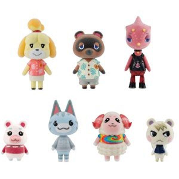 Bandai Shokugan - Animal Crossing: New Horizons Villager Flocked Doll Collection @Amazon