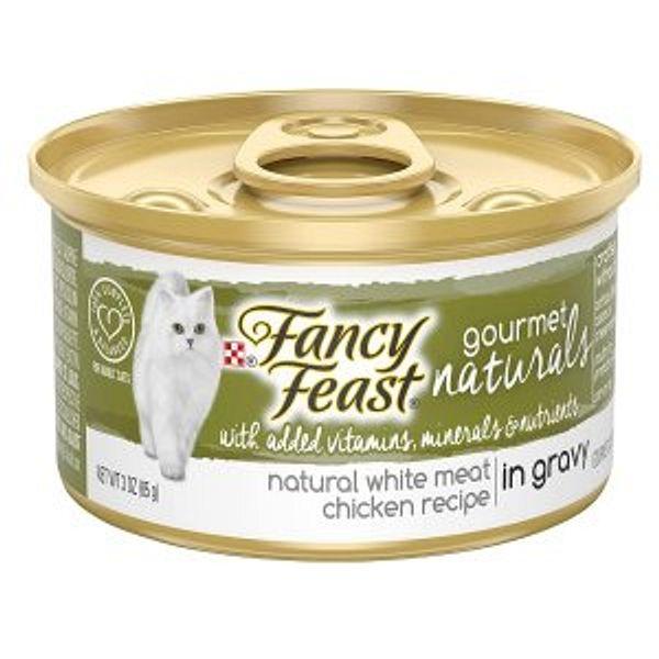 Purina Fancy Feast in Gravy Adult Canned Wet Cat Food @Amazon