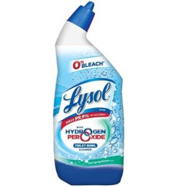Lysol Bleach Free Hydrogen Peroxide Toilet Bowl Cleaner @Amazon