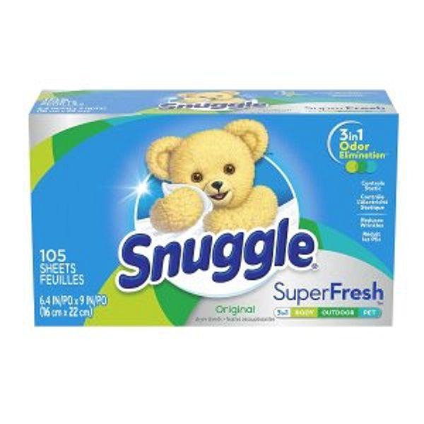 Snuggle Plus Super Fresh Fabric Softener Dryer Sheets @Amazon