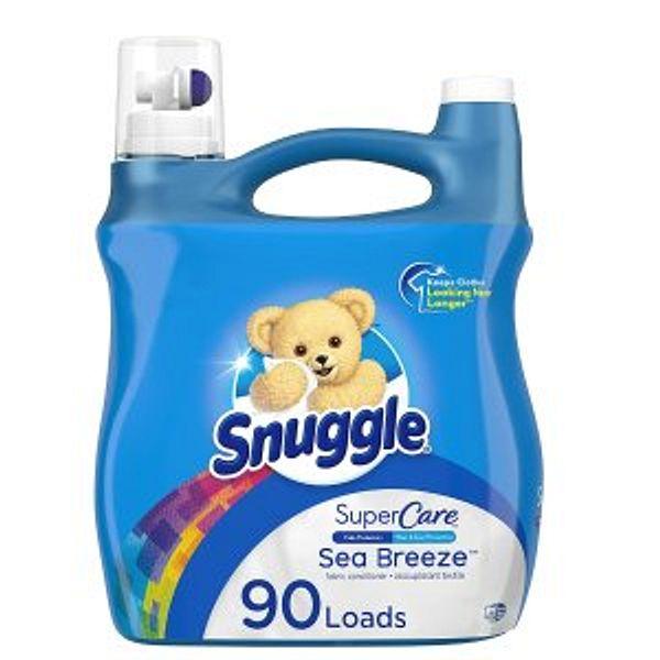 Snuggle SuperCare Liquid Fabric Softener, 95 Ounce @Amazon
