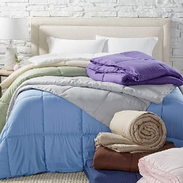Royal Luxe Lightweight Microfiber Color Down Alternative Comforter