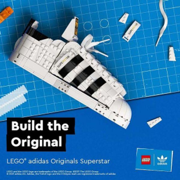 Coming Soon: LEGO adidas Originals Superstar 10282