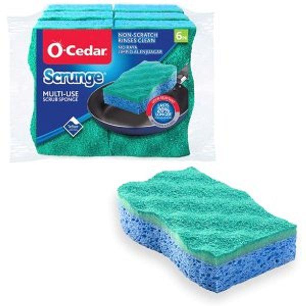 O-Cedar Scrunge Multi-Use (Pack of 6)