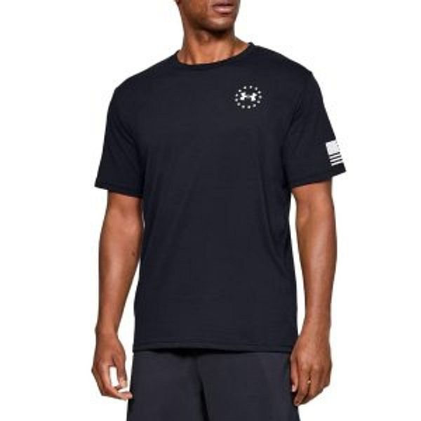Amazon Under Armour Men's Freedom Flag T-Shirt