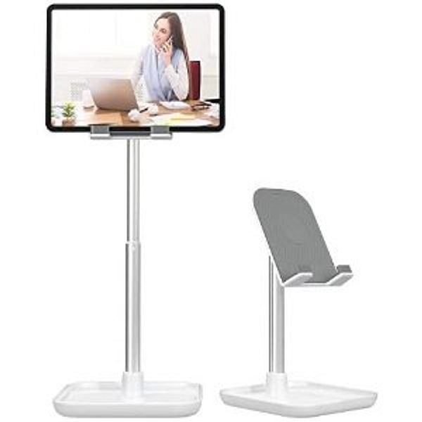 Licheers Cell Phone Stand, Height Angle Adjustable Phone Stand for Desk Tablet Stand